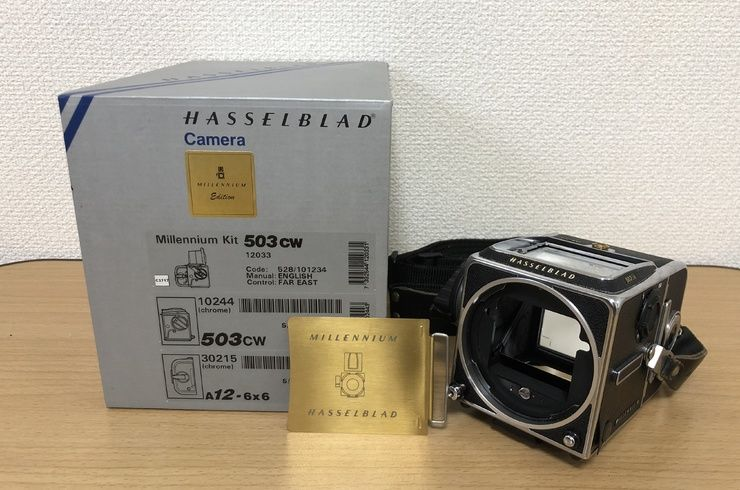 HASSELBLAD Millennium Kit chrome 503CW A12-6x6